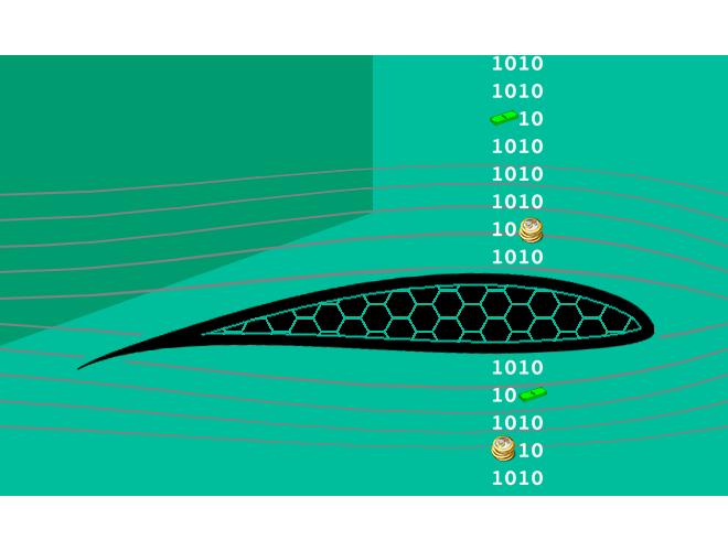 پروژه شبکه بندی شش وجهی برای یک ایرفویل دو بعدی به روش ogrid با استفاده از نرم افزار ICEM