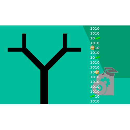 شبکه بندی شش وجهی برای یک دو شاخگی دوگانه