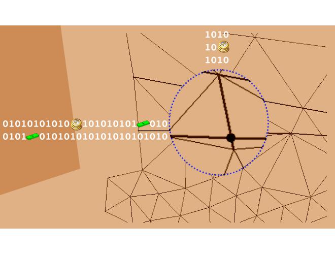 پروژه بازیابی اضلاع مرزی با اضافه کردن نقطه به مرزها (دوبعدی ) با استفاده از نرم افزار فرترن