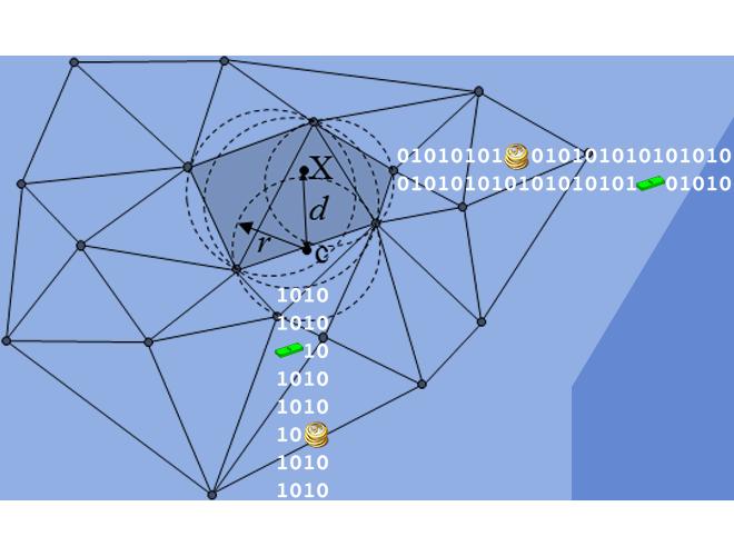 پروژه تولید شبکه دو بعدی بی سازمان مثلثی به روش Bowyer-Watson با استفاده از نرم افزار فرترن