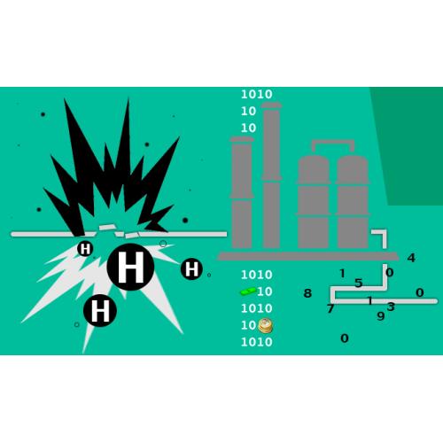 بررسی و شبیه سازی عددی انفجار گاز هیدروژن در خطوط انتقال فشار قوی