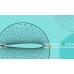 پروژه شبکه متحرک دو بعدی به روش فنر خطی (دو بعدی) با استفاده از نرم افزار فرترن