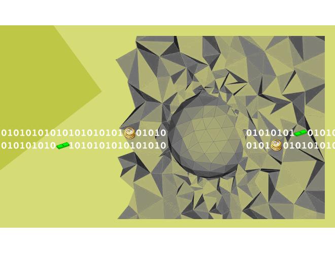 پروژه هموارسازی لاپلاسین هوشمند (شبکه سه بعدی) با استفاده از نرم افزار فرترن