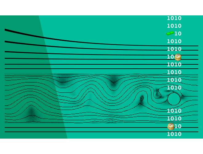 پروژه آموزش نرم افزار کامسول ( COMSOL ) شبیه سازی جریان هوا حول استوانه دوّار