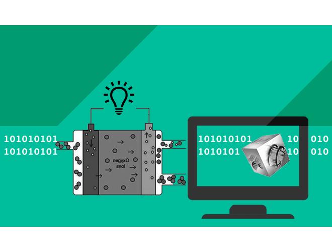 پروژه آموزش نرم افزار کامسول ( COMSOL ) شبیه سازی پیل سوختی اکسید جامد و به همراه فیلم آموزشی نرم افزار COMSOL