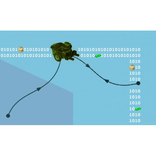 طراحی مسیر با استفاده از الگوریتم دوجهته در فضای دوبعدی و سه بعدی