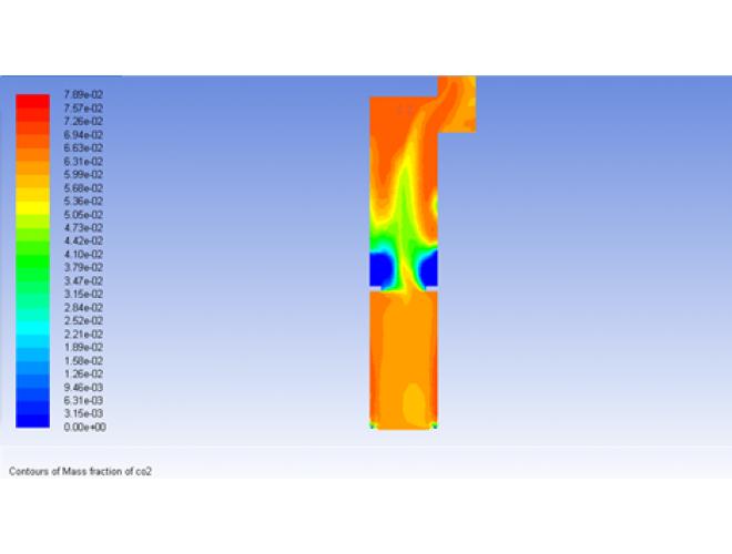 پروژه شبیه سازی عددی کوره ی کراکینگ با استفاده از نرم افزارهای  FLUENT و MATLAB