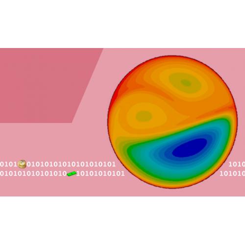 شبیهسازی CFD انتقال حرارت در بستر دوار گاز-جامد