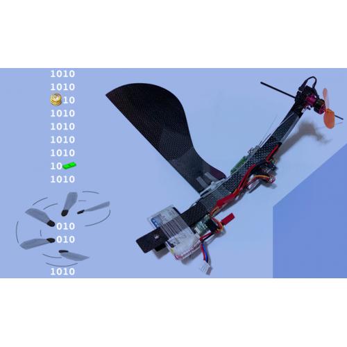 طراحی کنترلر بهینه بر اساس روش LQR برای سامانه هوايی خودمختار تکبال به کمک بهينه سازی تجمعی حرکت پرندگان