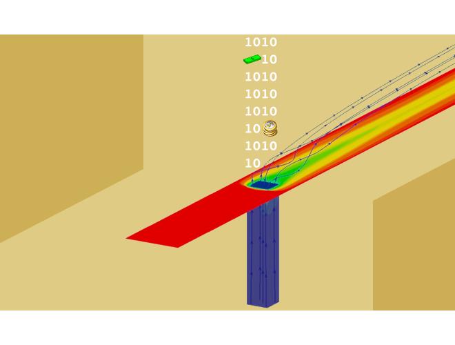 پروژه نرم افزار تحلیل جریان آشفته خنک کاری لایه ای سه بعدی تراکم ناپذیر با استفاده از مدل های آشفتگی (k-ω(SST و v^2 f-kω (الگوریتم SIMPLE روی شبکه متمرکز) با استفاده از نرم افزار فرترن و به همراه فیلم آموزشی نرم افزار فرترن