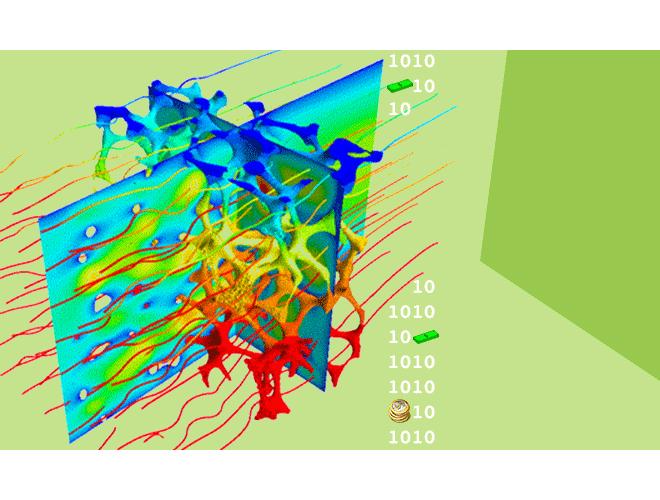 پروژه نرم افزار تحلیل جریان و انتقال حرارت آرام و دو بعدی در محیط متخلخل با هندسه دلخواه توسط روش شبکه بولتزمن و اپراتورهای برخورد SRT و MRT با استفاده از نرم افزار فرترن و به همراه فیلم آموزشی نرم افزار فرترن