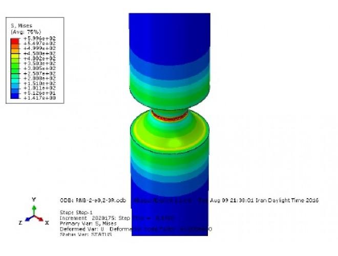 پروژه شبیه سازی شکست در آزمایش کشش فولاد X70 با مدل آسیب GTN با استفاده از نرم افزار ABAQUS و به همراه فیلم آموزشی نرم افزار ABAQUS