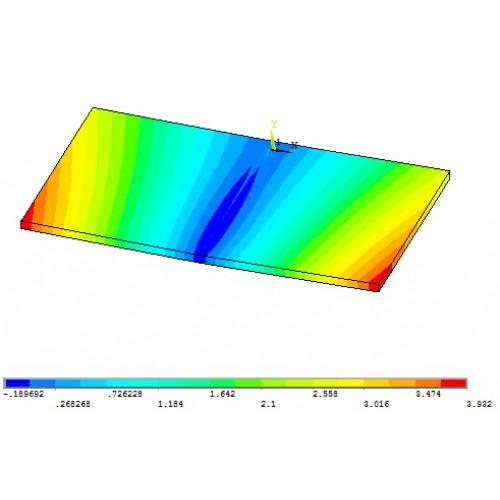 شبیه سازی فرایند جوشکاری ذوبی با استفاده از ماکرو نویسی در محیط APDL نرم افزار ANSYS