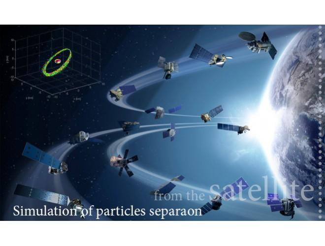 پروژه شبيهسازی پخش ذرات جداشده از ماهواره و اجرام سماوی در مدارهای فضایی با استفاده از نرم افزار MATLAB
