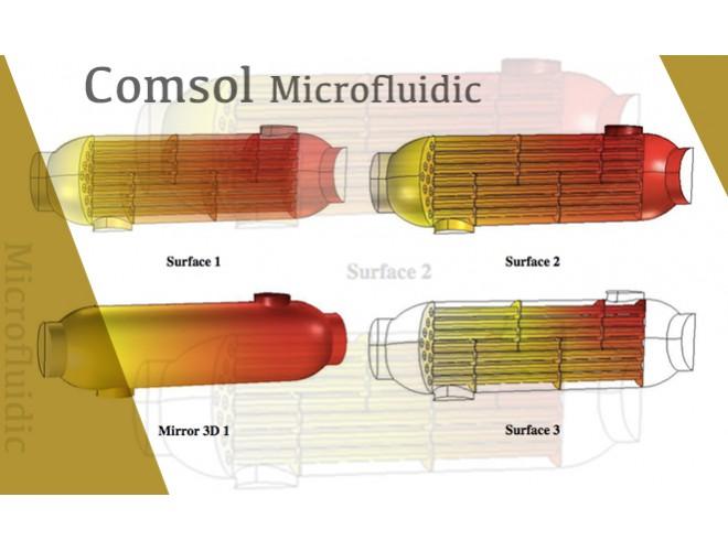 پروژه آموزش جامع به همراه شبیهسازی سیستمهای میکرو سیالی با نرمافزار COMSOL