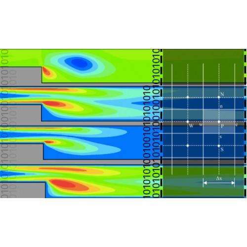 شبیه سازی عددی جریان توربولانسی گذرنده از روی هندسه پله (BFS) و ارزیابی سه مدل توربولانسی k-epsilon، LES و  DES