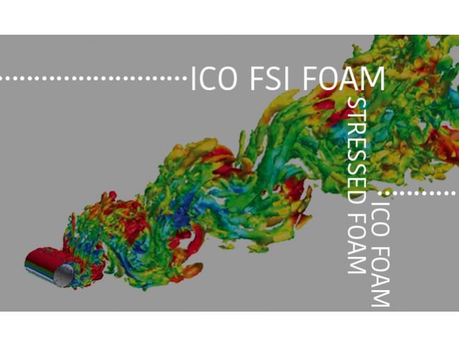 پروژه تشریح کدهای icoFoam و stressedFoam و icoFsiFoam با استفاده از نرم افزار OpenFOAM