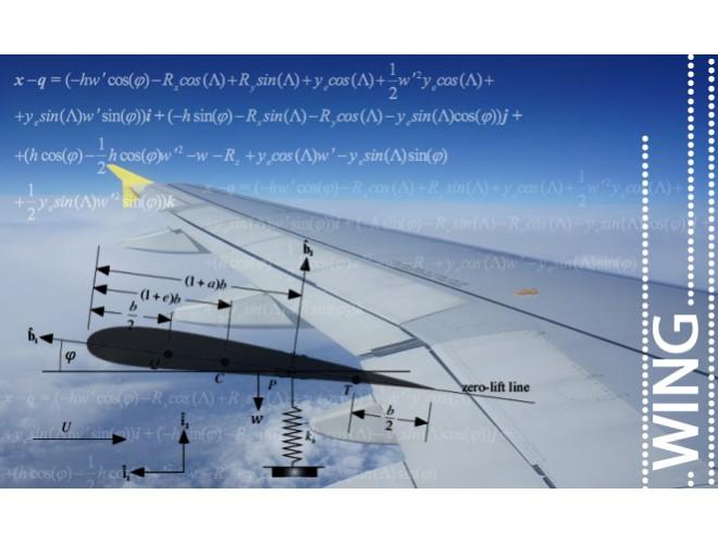 پروژه  تحلیل آئروالاستیک بال هواپیما با در نظر گرفتن میراگر مغناطیسی در محل اتصال جرم خارجی به کمک نرم افزار MATLAB به همراه فیلم آموزشی نرم افزار MATLAB