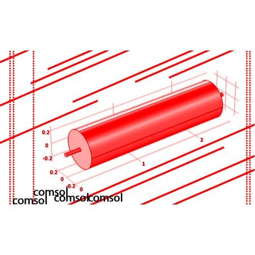 مدلسازی انتقال حرارت،جرم و مومنتم در یک راکتور لولهای سه بعدی با استفاده از نرم افزار کامسول