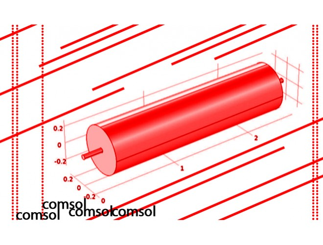 پروژه مدلسازی انتقال حرارت، جرم و مومنتم در یک راکتور لولهای سه بعدی با استفاده از نرم افزار کامسول و به همراه فیلم آموزشی نرم افزار کامسول