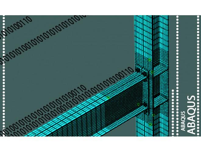 پروژه مدلسازی المان محدود اتصال پیچی صفحه انتهایی و مطالعه پارامتریک آن به کمک نرم افزار ABAQUS به همراه فیلم آموزشی نرم افزار ABAQUS
