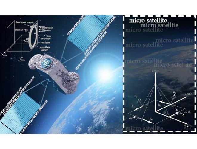 پروژه طراحی سیستم کنترل وضعیت میکروماهواره مجهز به عملگرهای نوترکیب با MATLAB + فیلم
