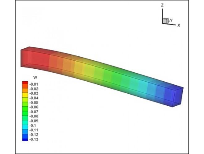 پروژه تحلیل الاستیسیته سه بعدی به روش اجزاء مرزی با استفاده از زبان برنامه نویسی FORTRAN