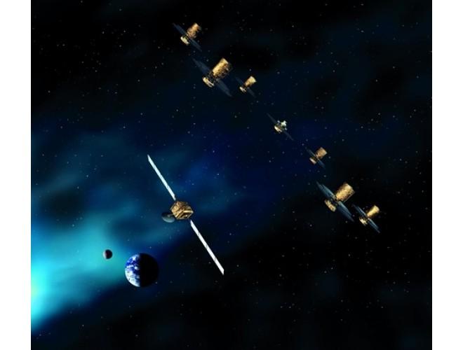 پروژه طراحی کنترل کننده مقاوم برای مجموعه ای از ماهواره ها در پرواز آرایش یافته (طراحی و اعتبارسنجی سیستم کنترل) با استفاده از نرم افزار MATLAB و به همراه فیلم آموزشی نرم افزار MATLAB