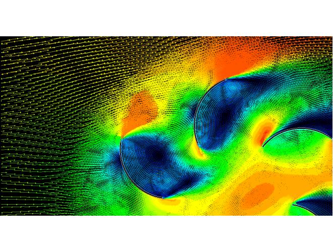 پروژه شبيه سازی عددی  کارايی استفاده از يکسو کننده بر توربين باد عمود محور با استفاده از نرم افزار FLUENT