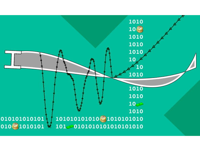 پروژه تحليل دینامیکی غيرخطي کامل براي تير کاملا عمومي با استفاده از زبان برنامه نویسی FORTRAN  و به همراه فیلم آموزشی زبان FORTRAN