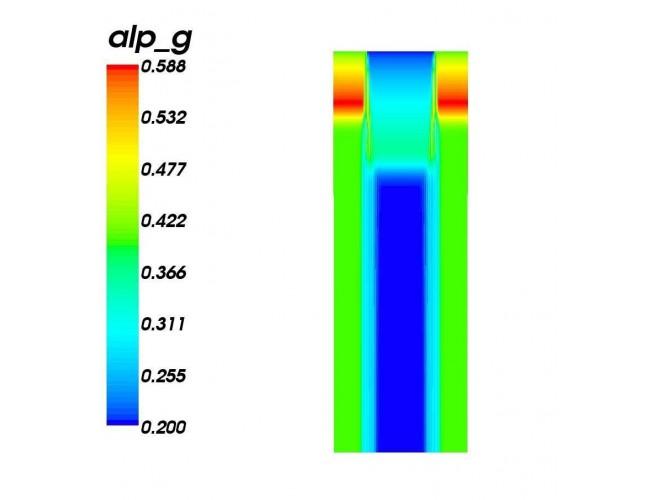 پروژه نرمافزار حل عددی معادلات مدل دوسیالی تکفشاری با استفاده از روشهای AUSM با استفاده از نرم افزار فرترن