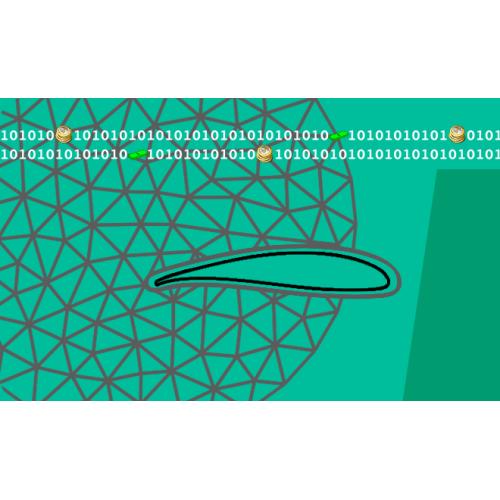 نرم افزار تحلیل جریان مبتنی بر معادلات اویلر دو بعدی تراکم پذیر ناپایا کاربرد در جریانهای داخلی و خارجی با شبکه بدون سازمان