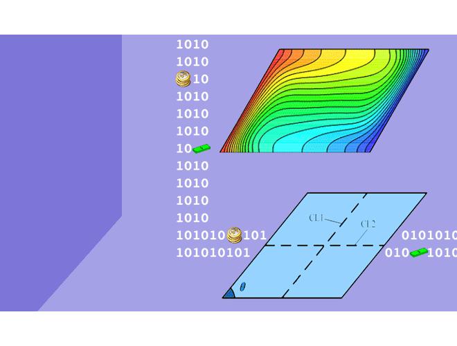 پروژه تحلیل عددی جابجایی طبیعی نانوسیالها در محفظههای پیچیده با استفاده از نرم افزار فرترن