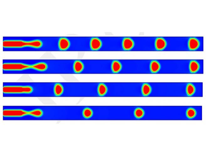 پروژه شبیه سازی عددی تشکیل قطره در میکروکانال ها با استفاده از روش شبکه بولتزمن با استفاده از نرم افزار فرترن