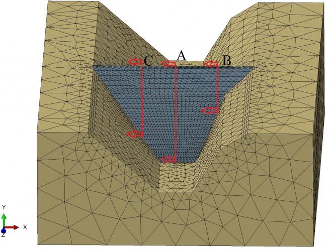 تحلیل استاتیکی و دینامیکی سد سنگریزهای با رویهی بتنی (CFRD)