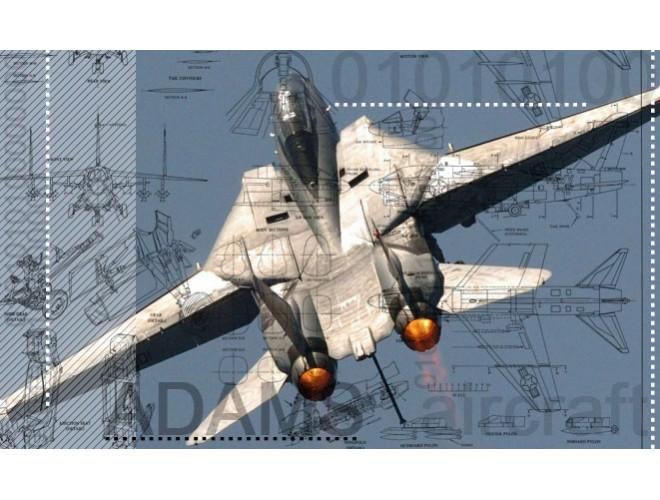 پروژه آموزش تحلیل و طراحی مدل هواپیما  در محیط نرمافزار ADAMS Aircraft به همراه فیلم آموزش نرم افزار ADAMS Aircraft