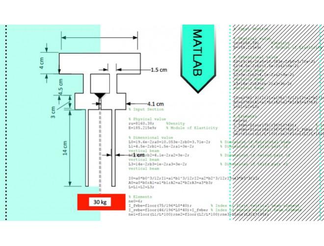 پروژه بررسی میزان تأثیرگذاری پارامترهای میراگر اصطکاکی بر روی ارتعاشات پره توربین موتور جت با استفاده از نرم افزار MATLAB به همراه فیلم آموزش نرم افزار MATLAB