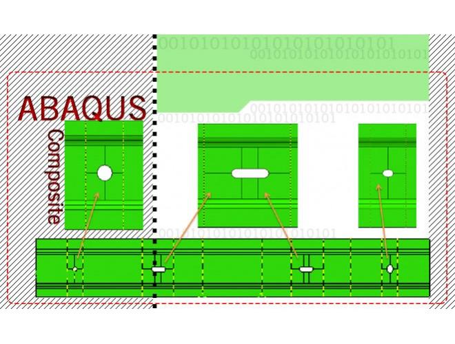 پروژه بررسی میزان جذب انرژی در ضربه گیرهای کامپوزیتی  با استفاده از نرمافزار ABAQUS به همراه فیلم آموزش نرم افزار ABAQUS