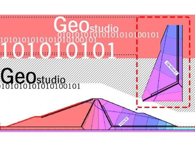 پروژه مدلسازي و بررسي تاثير ژئوتکستایل به عنوان فیلتر و زهکش در سدهای خاکی به کمک نرم افزار GEO STUDIO