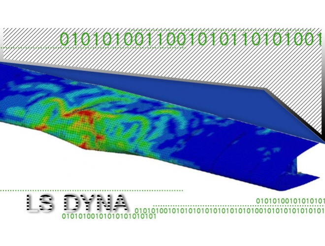 پروژه مدلسازی، تحلیل و بهينهسازي سازهي لبه حملهي بال هواپیما در برابر برخورد پرنده با استفاده از نرم افزار LS DYNA به همراه فیلم آموزش نرم افزار LS DYNA