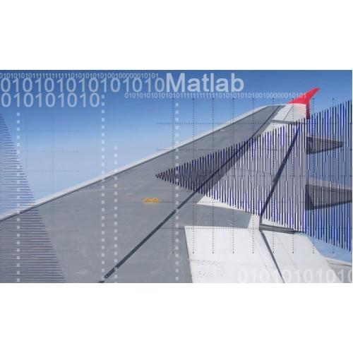 پروژه شبیه سازی رفتار ارتعاشی بال با نسبت منظری بالا در پیچش غیرخطی ناب با استفاده از نرم افزار MATLAB به همراه فیلم آموزش نرم افزار MATLAB