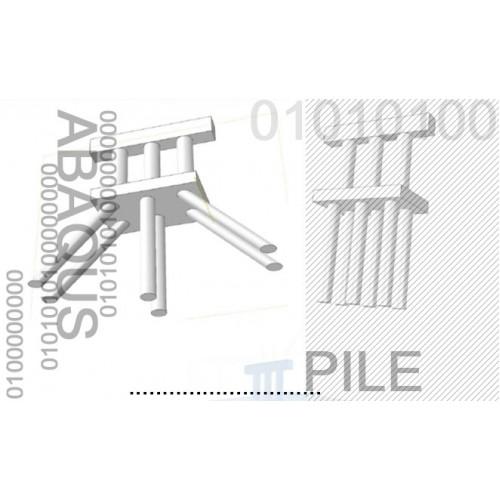 پروژه تحلیل اندرکنش خاک و سازه به روش المان محدود در گروه ریز شمعهای قائم و مایل و مقایسه شمعهای قائم و مایل در تحلیل دینامیکی پایه پل با استفاده از نرم افزار ABAQUS به همراه فیلم آموزش نرم افزار ABAQUS