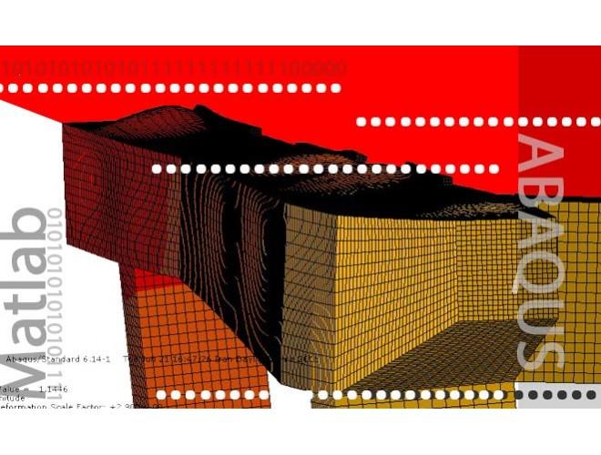 پروژه بهینه سازی طرح تیرها و ستون های یک دستگاه حمل شناور به روش الگوریتم ژنتیک با استفاده از نرم افزار ABAQUS به همراه فیلم آموزش نرم افزار ABAQUS