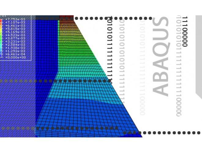 پروژه شبیه سازی انفجار در مخزن سد بتنی وزنی با استفاده از نرم افزار ABAQUS به همراه فیلم آموزش نرم افزار ABAQUS