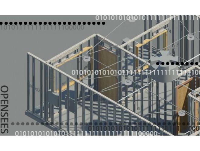 پروژه مکانیسم خرابی قاب های سبک فولادی LSF تحت ارتعاشات آنی با استفاده از نرم افزار OPENSEES و به همراه فیلم آموزش نرم افزار OPENSEES