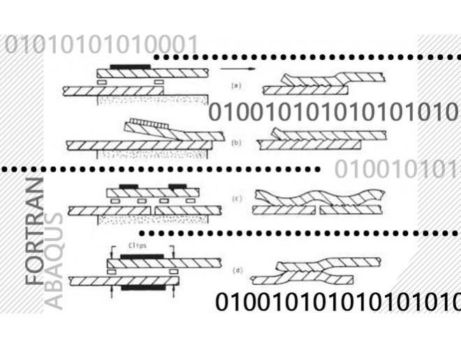 پروژه شبیه سازی تشکیل ورق دو لایه با استفاده از فرایند جوشکاری انفجاری با استفاده از نرم افزار ABAQUS و FORTRAN و به همراه فیلم آموزشی نرم افزار ABAQUS و FORTRAN