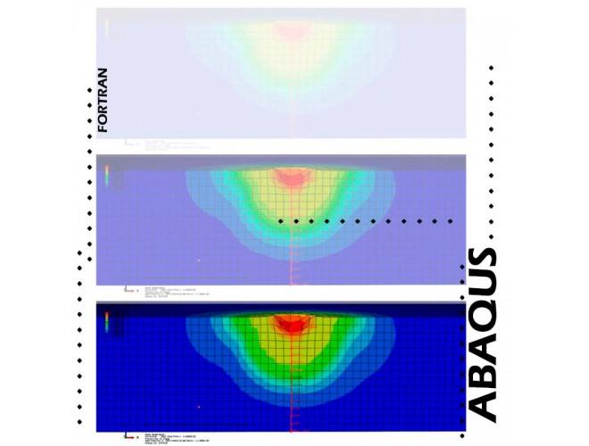 پروژه شبیه سازی رشد ترک سه بعدی با اعمال بارگذاری متغیر و شبیه سازی فرآیند شات پینینگ با ABAQUS و فرترن + فیلم