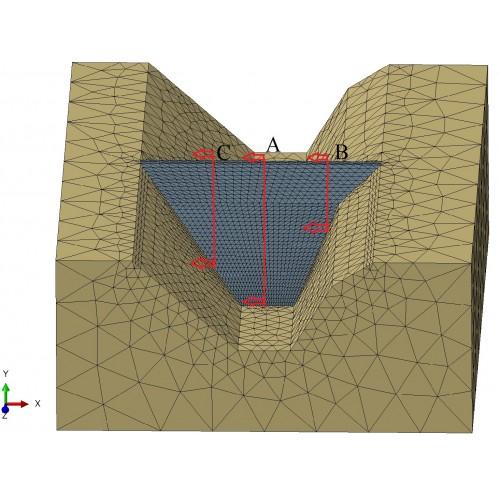 مقایسه ی نتایجآنالیزهای دینامیکی دوبعدی و سه بعدی سد سنگریزی شده بارویه ی بتنی (CFRD)