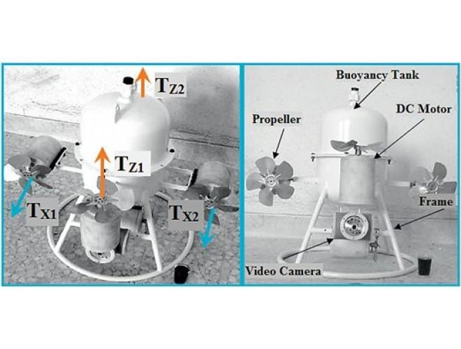 هدايت و كنترل ربات زيرآبي با استفاده از سيستم كنترل ANFI