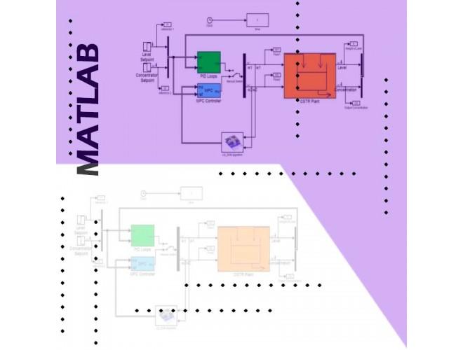پروژه کنترل پیشبین مدل غیرخطی فرآیند با ماشین بردار پشتیبان حداقل مربعات (LSSVM) با MATLAB + فیلم